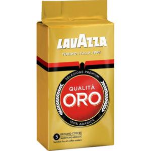 "Молотый кофе "" Lavazza"" Qualità Oro (Оро) 250г в/у"