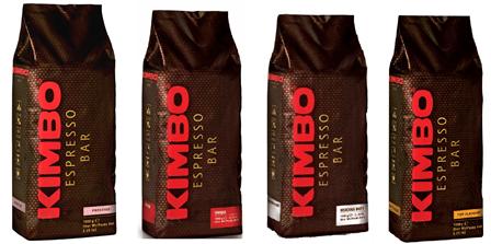 Новинка лета 2015: Неаполитанский кофе в зернах Kimbo