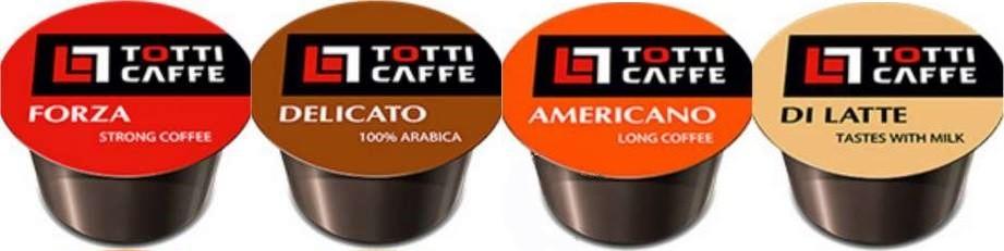 Новинка сентября: Кофе в капсулах TOTTI Caffe